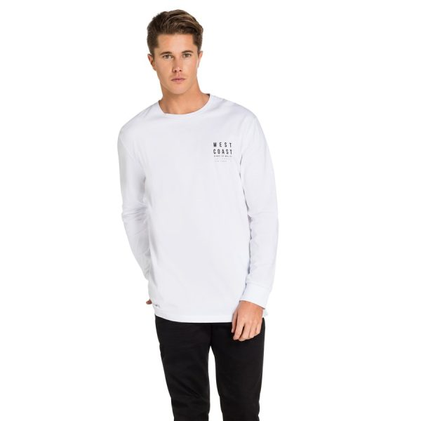 Fashion 4 Men - yd. Newton Long Top White L