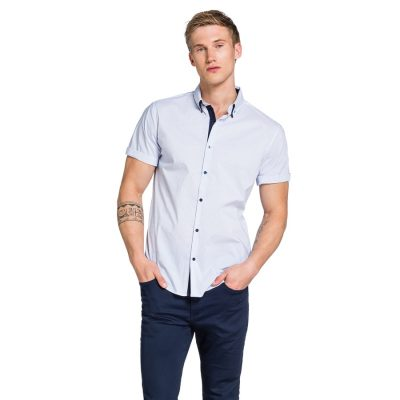 Fashion 4 Men - yd. Sarenne Shirt White S