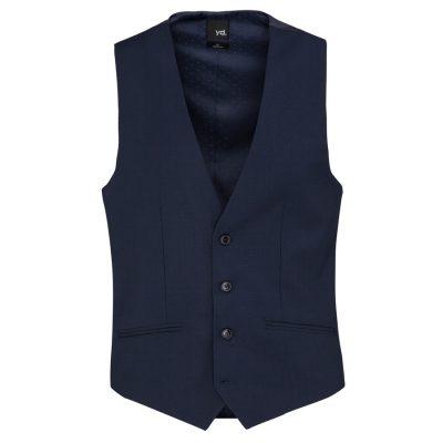 Fashion 4 Men - yd. Sinatra Waistcoat Navy Xs