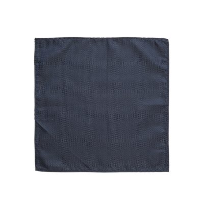 Fashion 4 Men - yd. Staple Textured Pocket Square Navy One