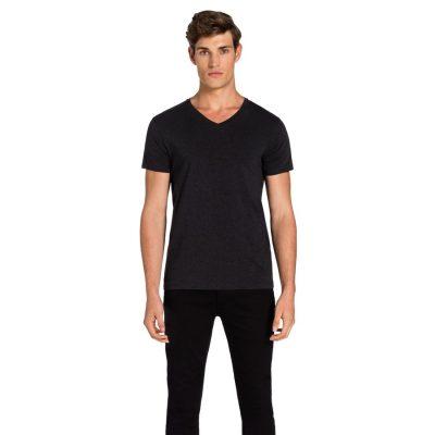 Fashion 4 Men - yd. Vinton Tee Charcoal 2 Xl