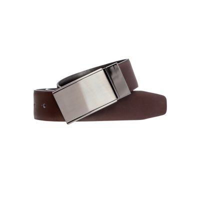 Fashion 4 Men - yd. Williams Dress Belt Choc 32
