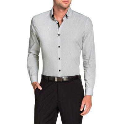Fashion 4 Men - Tarocash Arran Print Shirt Black L