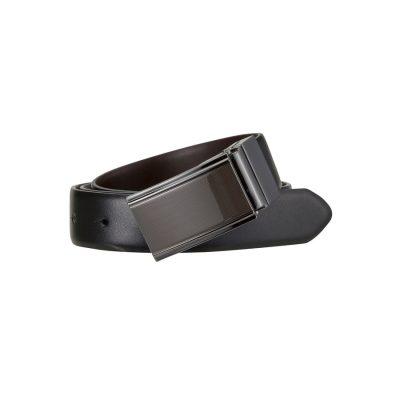 Fashion 4 Men - Tarocash Barracks Reversible Belt Choc/Black 42