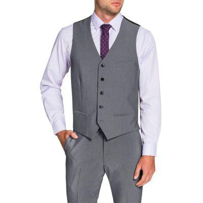 Fashion 4 Men - Tarocash Chelsea Waistcoat Pewter Xxl