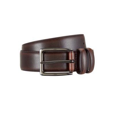 Fashion 4 Men - Tarocash Digby Prong Belt Chocolate 42