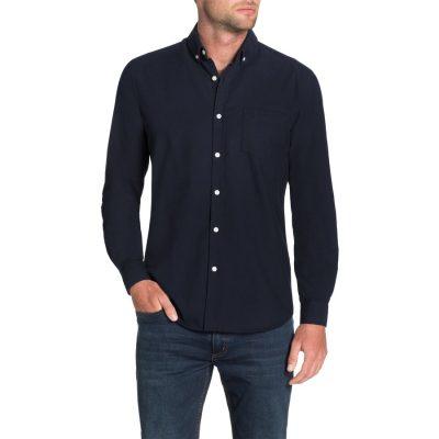 Fashion 4 Men - Tarocash Essential Oxford Shirt Navy Xxxl