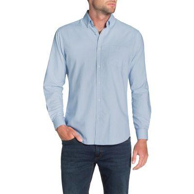 Fashion 4 Men - Tarocash Essential Oxford Shirt Sky 5 Xl