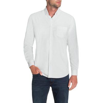 Fashion 4 Men - Tarocash Essential Oxford Shirt White L