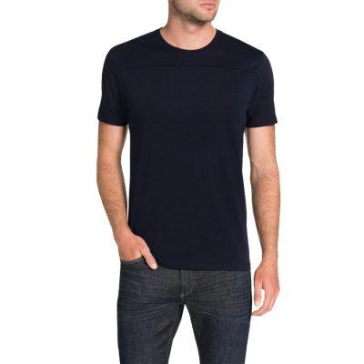 Fashion 4 Men - Tarocash Essential Panel Tee Navy Xl