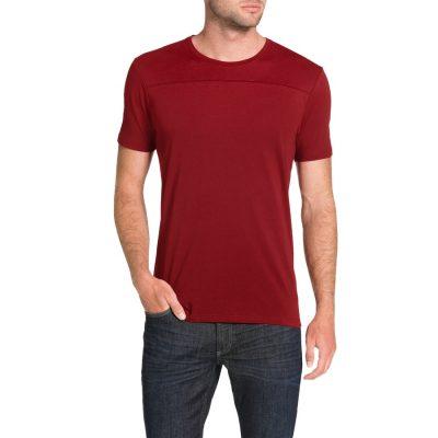Fashion 4 Men - Tarocash Essential Panel Tee Red S
