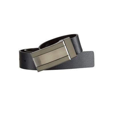 Fashion 4 Men - Tarocash Gusset Reversible Belt Black/Brown 42