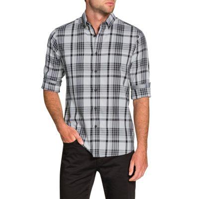 Fashion 4 Men - Tarocash Hemlock Check Shirt White L