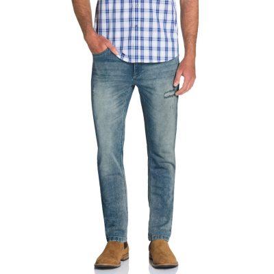 Fashion 4 Men - Tarocash Henson Tapered Stretch Jean Sky 40