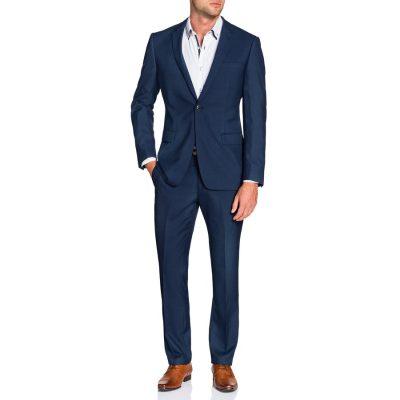 Fashion 4 Men - Tarocash Mercer 1 Button Suit Blue 46