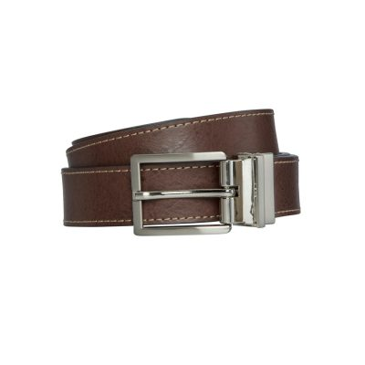 Fashion 4 Men - Tarocash Spencer Reversible Prong Belt Tan/Black 34