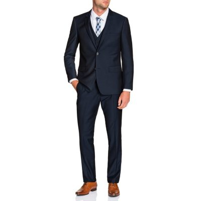 Fashion 4 Men - Tarocash Vincent 2 Button Suit Midnight 38