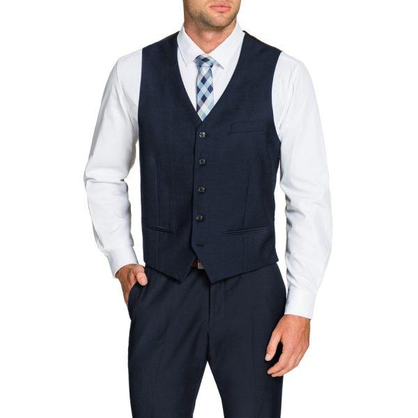 Fashion 4 Men - Tarocash Vincent Waistcoat Midnight S