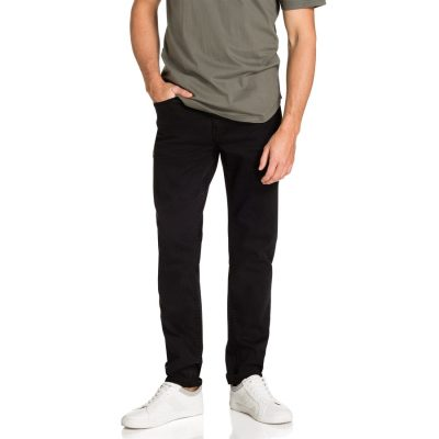 Fashion 4 Men - yd. Banning Slim Tapered Jean Black 33
