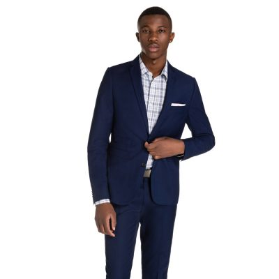 Fashion 4 Men - yd. Cahn Skinny Suit Blue 48
