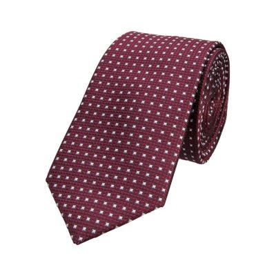 Fashion 4 Men - yd. Cash 6.5 Cm Tie Dark Red One