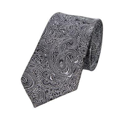 Fashion 4 Men - yd. Charlie 6.5 Cm Tie Black Paisley One