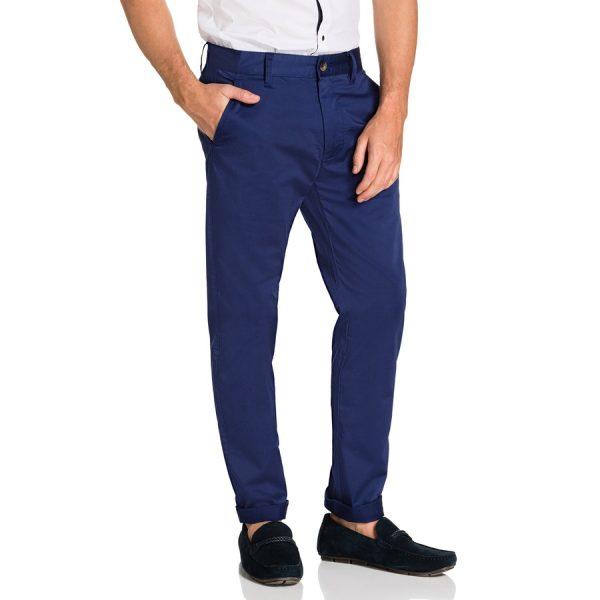 Fashion 4 Men - yd. Darval Chinos Bright Blue 33