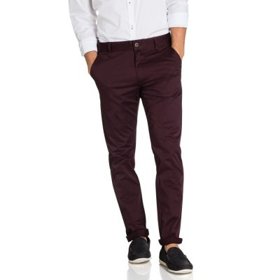 Fashion 4 Men - yd. Darval Chinos Mulberry 40
