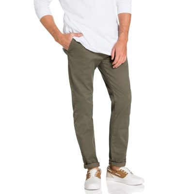 Fashion 4 Men - yd. Freeman Washed Chino Khaki 38