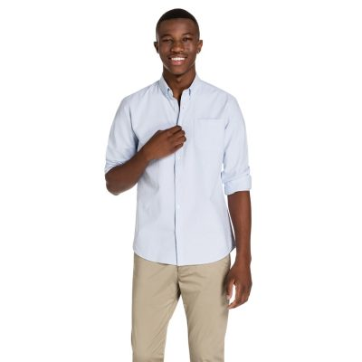 Fashion 4 Men - yd. Hamptons Shirt Light Blue L