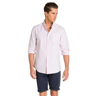 Fashion 4 Men - yd. Hamptons Shirt Light Pink L