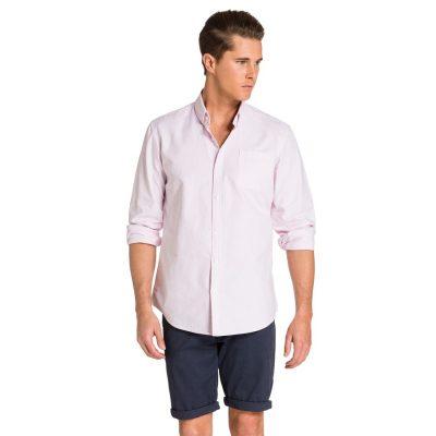 Fashion 4 Men - yd. Hamptons Shirt Light Pink S