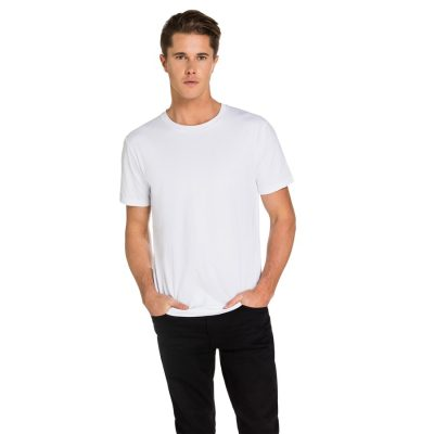 Fashion 4 Men - yd. Marlon Crew Tee White L