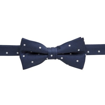 Fashion 4 Men - yd. Morrison Bowtie Navy/Silver One