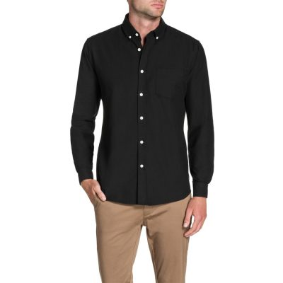 Fashion 4 Men - Tarocash Essential Oxford Shirt Black L