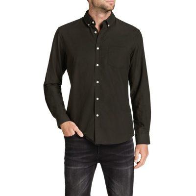Fashion 4 Men - Tarocash Essential Oxford Shirt Khaki S