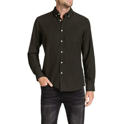 Fashion 4 Men - Tarocash Essential Oxford Shirt Khaki Xl