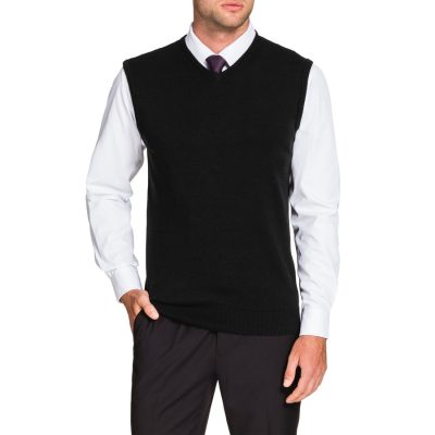 Fashion 4 Men - Tarocash Essential Vest Black M