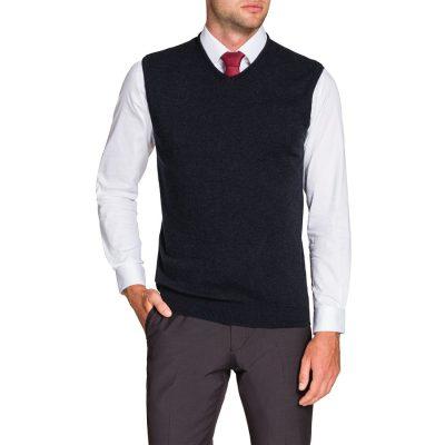 Fashion 4 Men - Tarocash Essential Vest Navy S