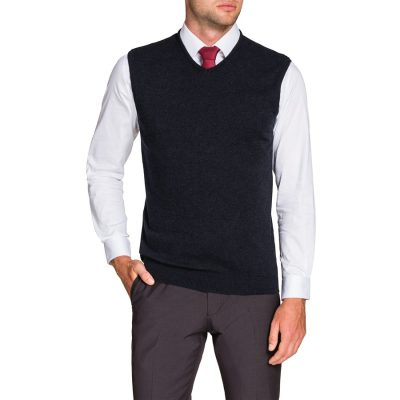 Fashion 4 Men - Tarocash Essential Vest Navy Xl