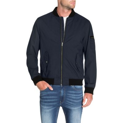Fashion 4 Men - Tarocash Jennings Bomber Jacket Blue Xxxl