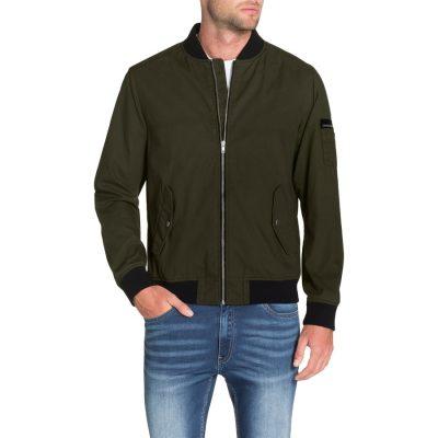 Fashion 4 Men - Tarocash Jennings Bomber Jacket Khaki L