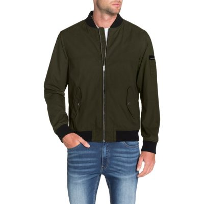 Fashion 4 Men - Tarocash Jennings Bomber Jacket Khaki M