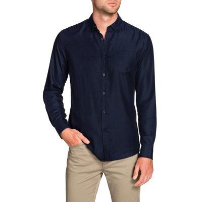 Fashion 4 Men - Tarocash Luxe Indigo Shirt Indigo L