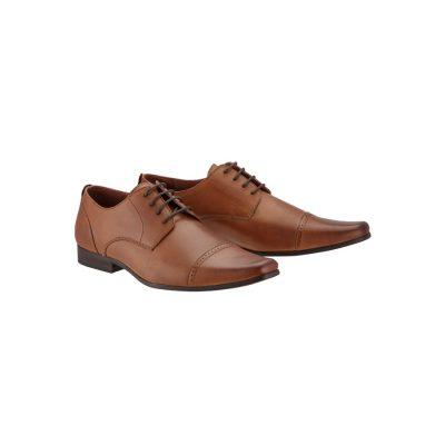 Fashion 4 Men - Tarocash Parsons Dress Shoe Tan 10