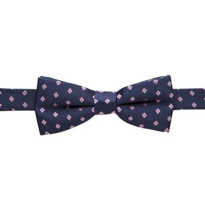 Fashion 4 Men - yd. Duanos Bowtie Navy/Pink One