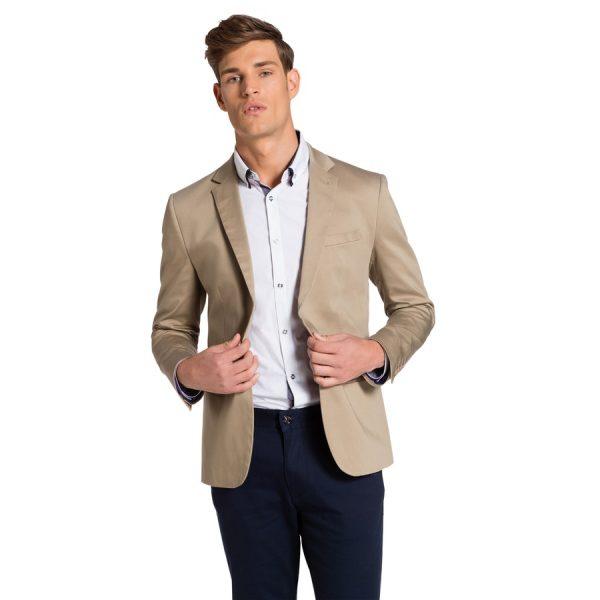 Fashion 4 Men - yd. Academy Dress Jacket Camel 2 Xs