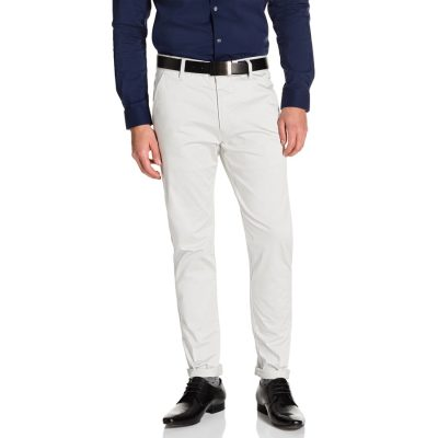 Fashion 4 Men - yd. Austin Skinny Chino Ice 36