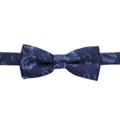 Fashion 4 Men - yd. Floral Bowtie Navy One