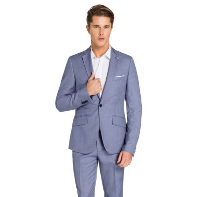 Fashion 4 Men - yd. Florida Suit Jacket Steel Blue 34
